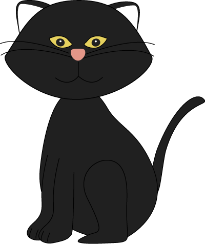 Halloween clipart cat. Black pinterest images