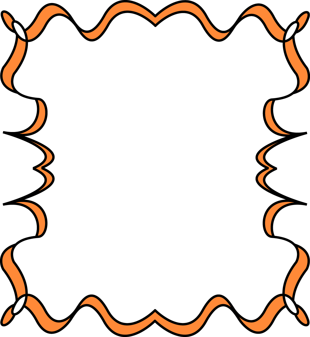 Halloween clipart corner. Free frame cliparts download