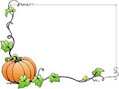 Halloween clipart corner. Free frame and corners