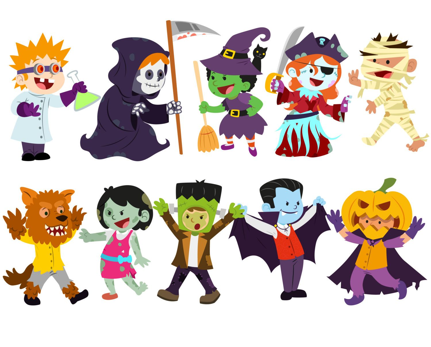 halloween clipart craft