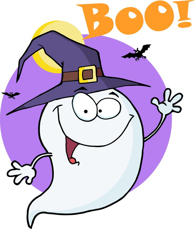 Halloween clipart goblins. Happy ghost at getdrawings