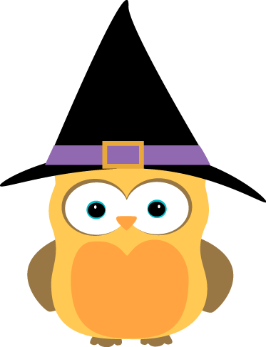 Halloween png owl. Witch art cute clip