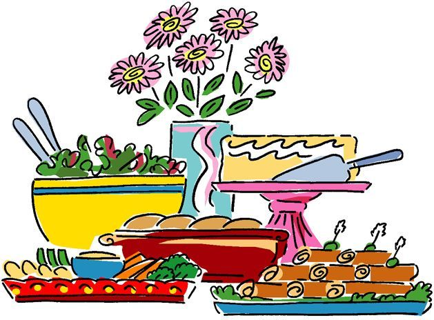 Luncheon clipart breakfast potluck. Best images on