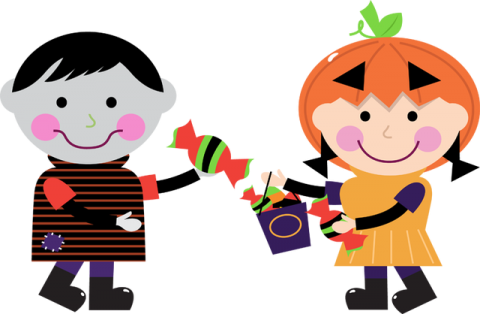 Halloween clipart preschool. Party moline public library