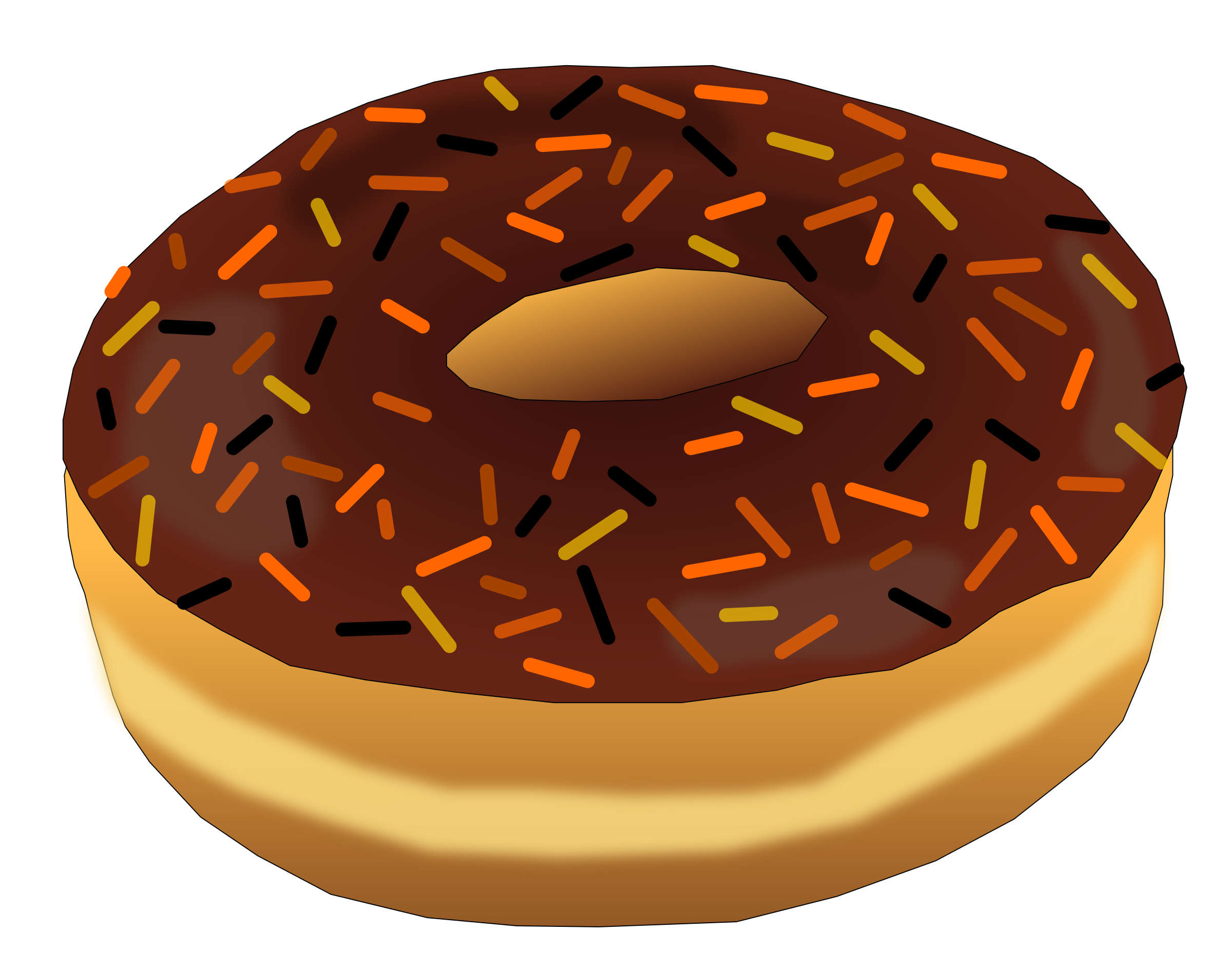 Halloween clipart snack. Donut big image png