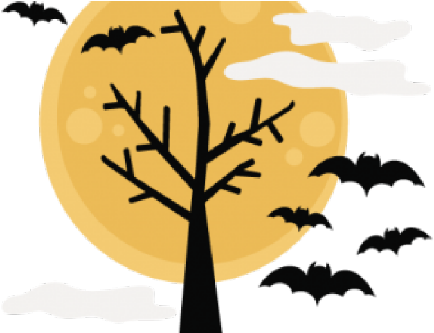 Halloween png transparent background. Download clipart tree x