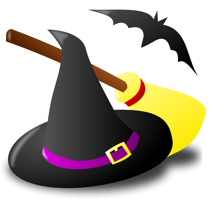 Halloween clipart witch. Free