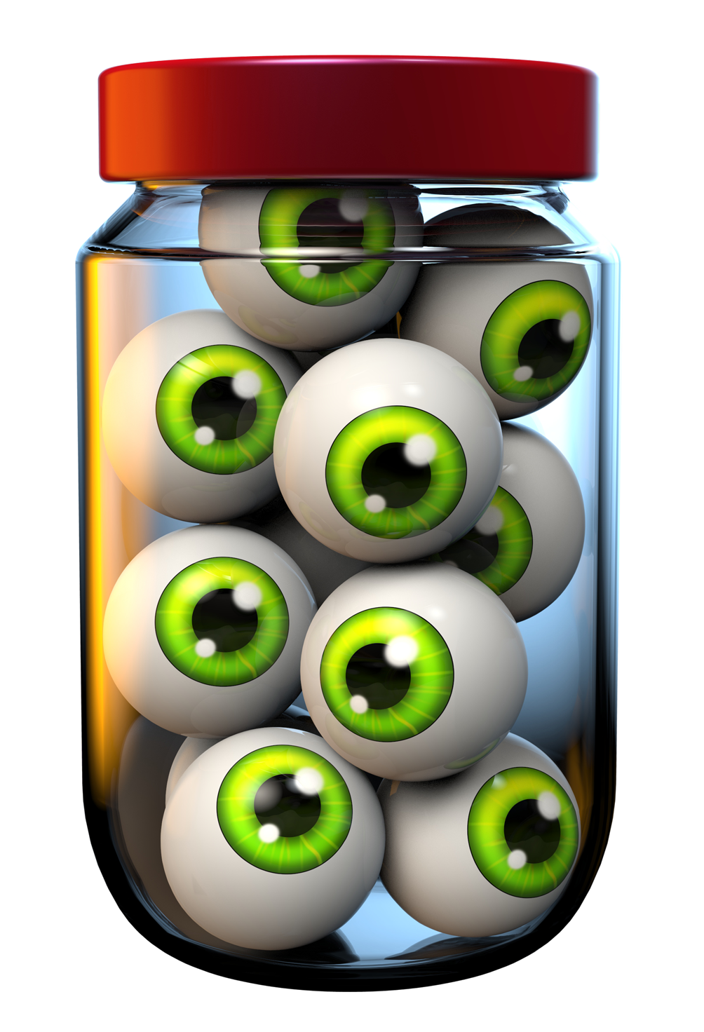 Halloween eyeball clipart png. Jar of eyeballs image