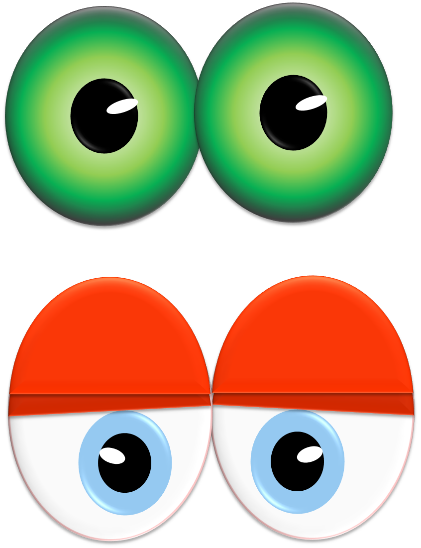Halloween eyeball clipart png. Printable monster eyes birthday