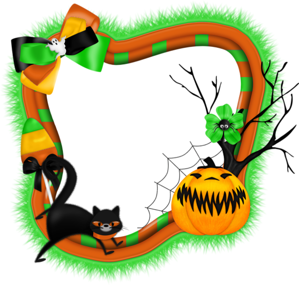 Halloween frame png. Pin by amy on