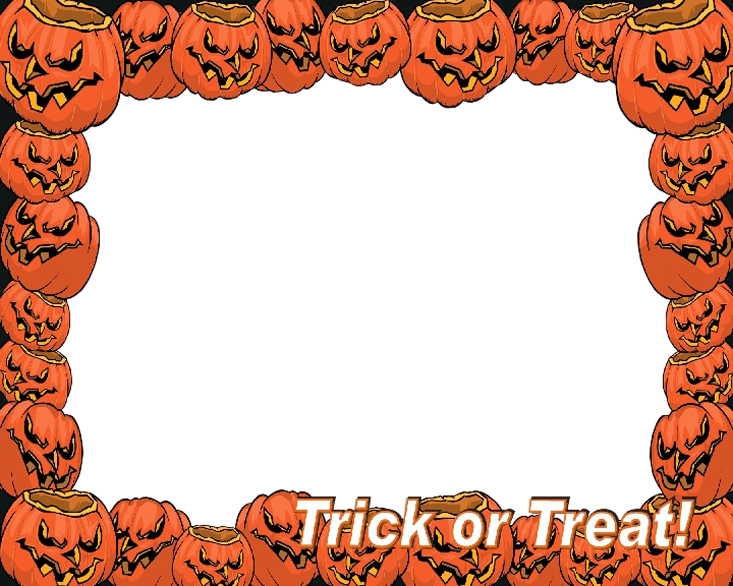 Halloween frame png. Transparent pictures free icons