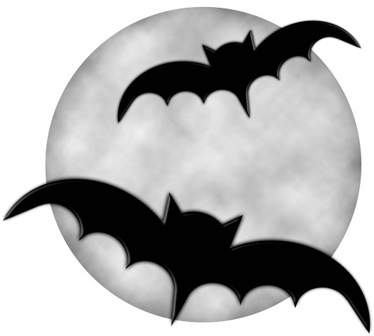 Halloween moon png. With bats clipart gallery