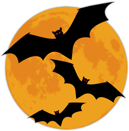 Halloween png. Graphics moonpng