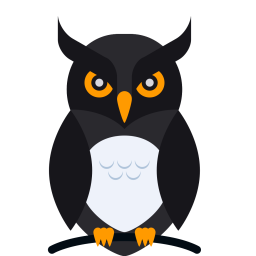 Halloween png owl. Animal bird night dark