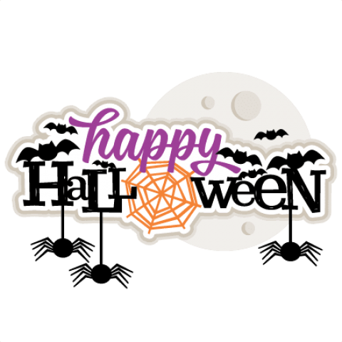 Image with free images. Halloween png transparent background vector black and white download