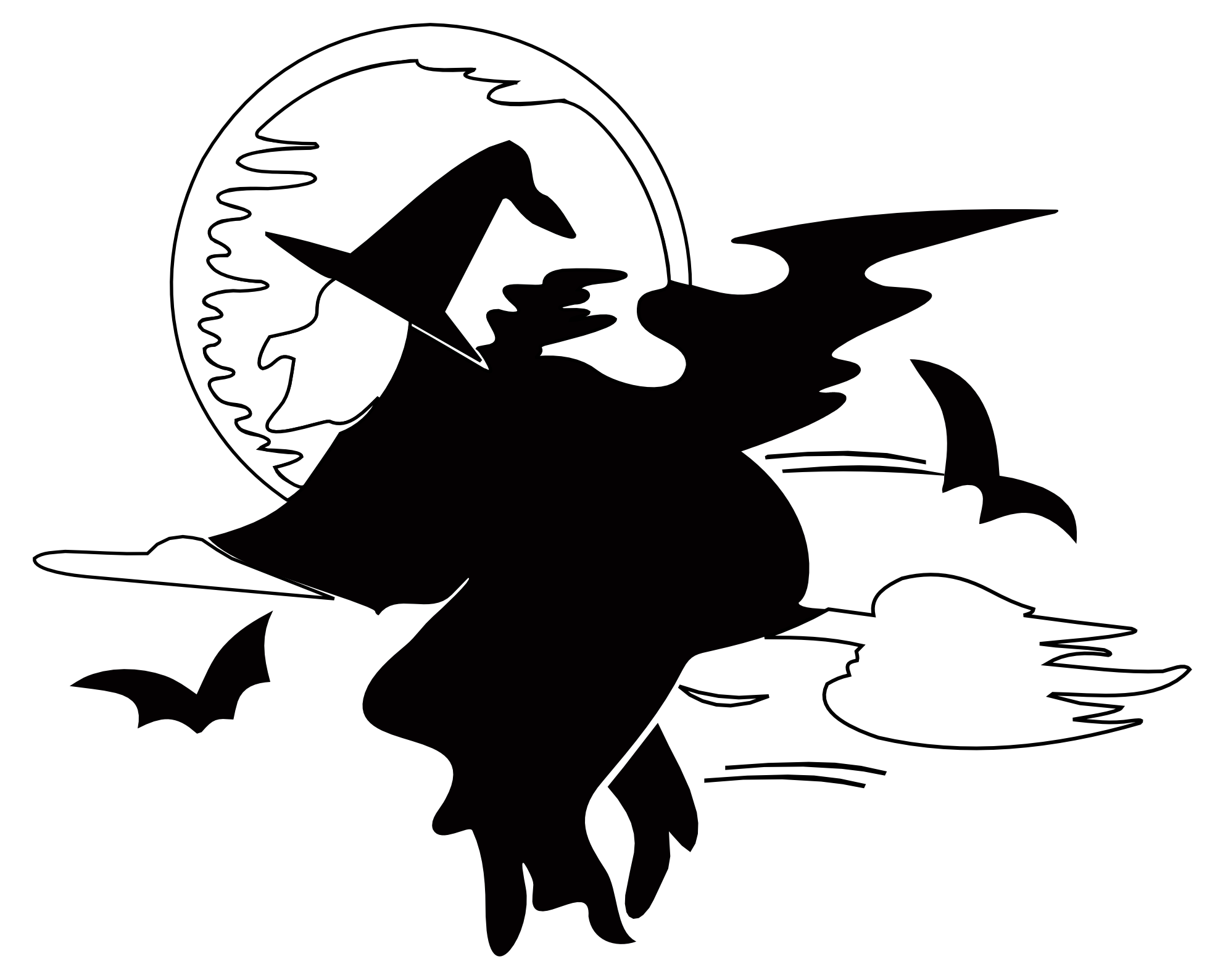 Halloween png white. Free black and images