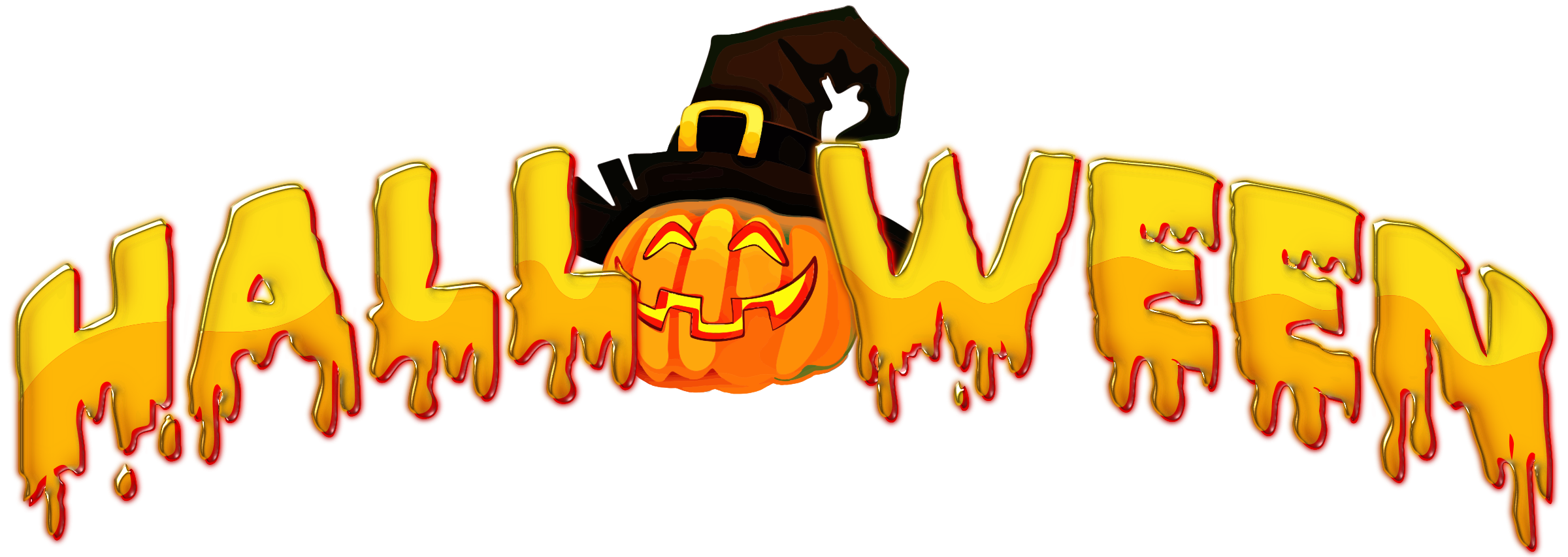 Halloween text png. Typography icons free and