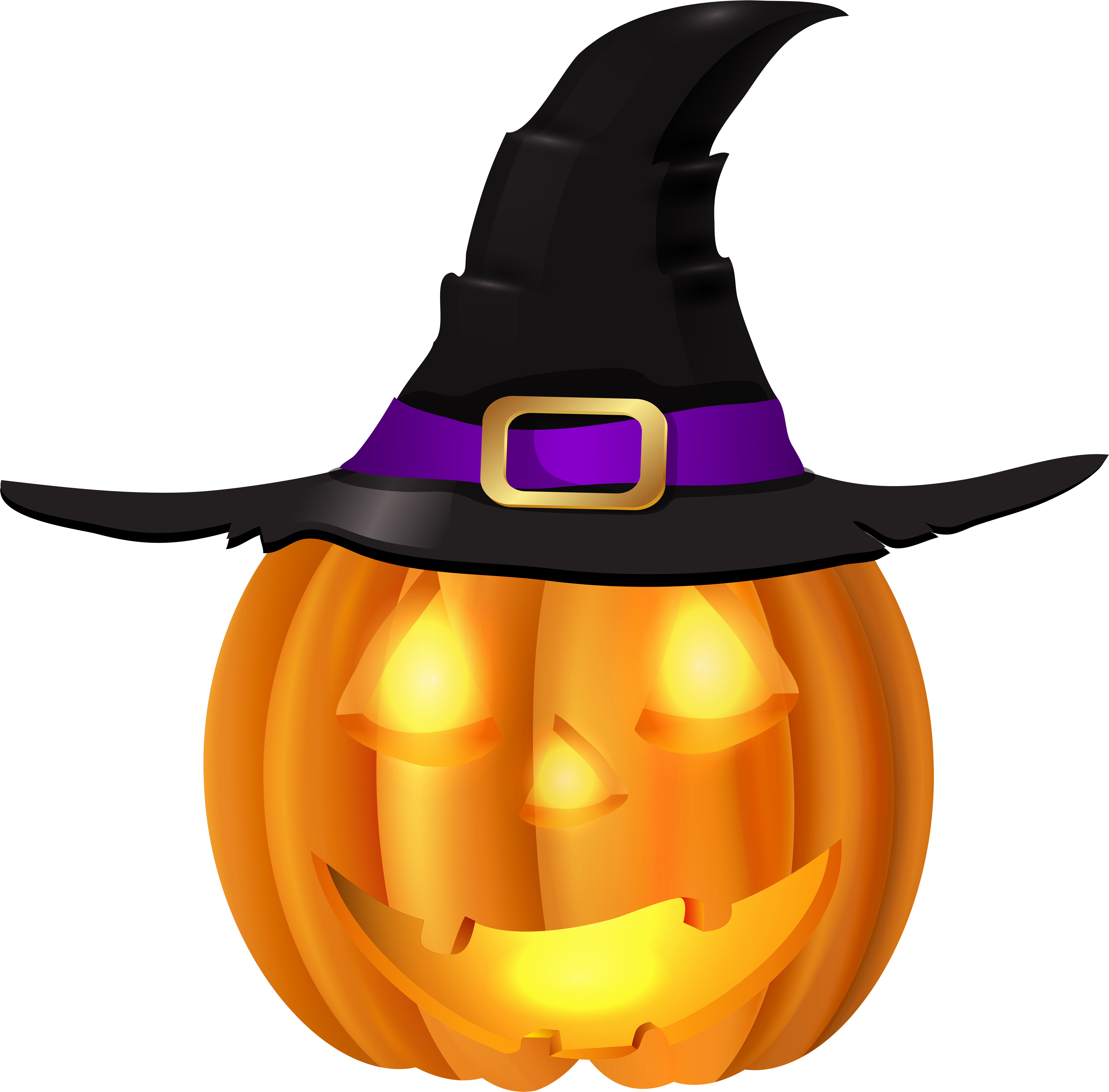 Halloween witch hat png. Download pumpkin with clip