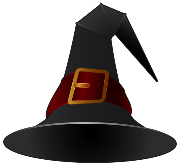 Halloween witch hat png. Black clipart image pinterest