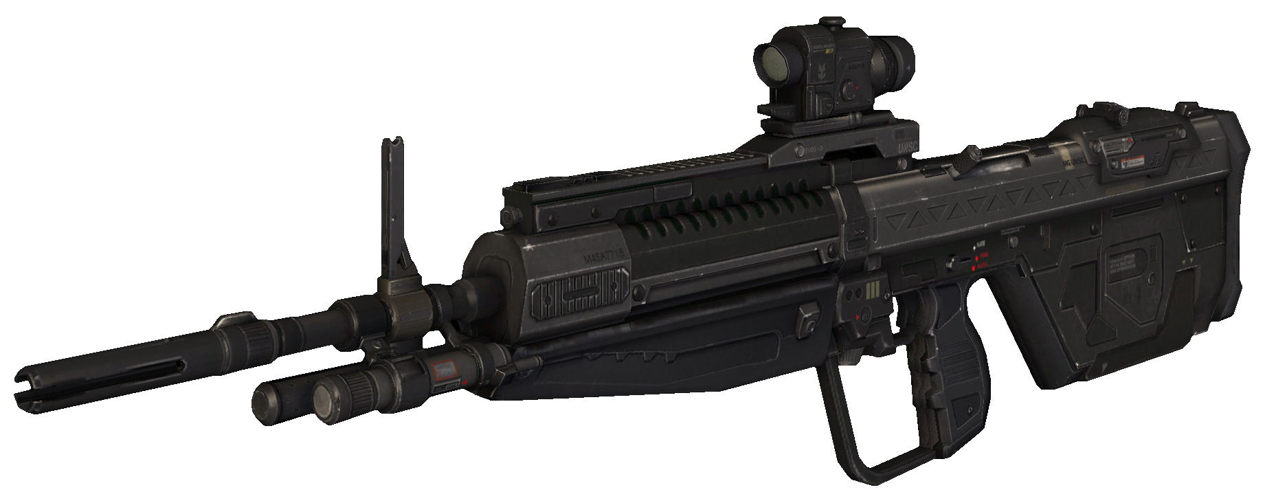 transparent rifle halo reach