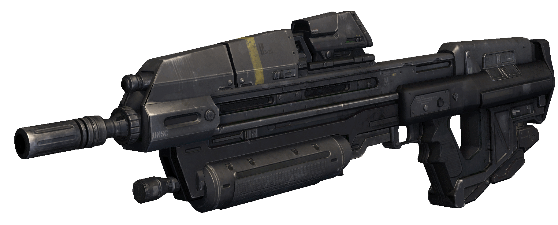 Halo 3 assault rifle pov png. Ma individual combat weapon