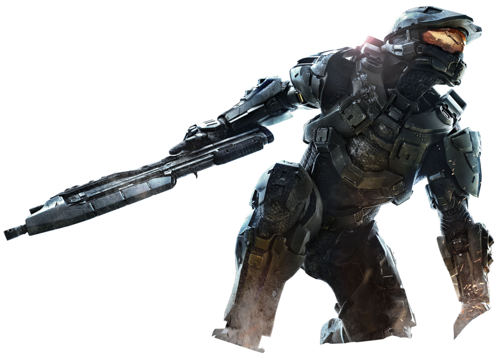 Halo 4 png. Image master chief render