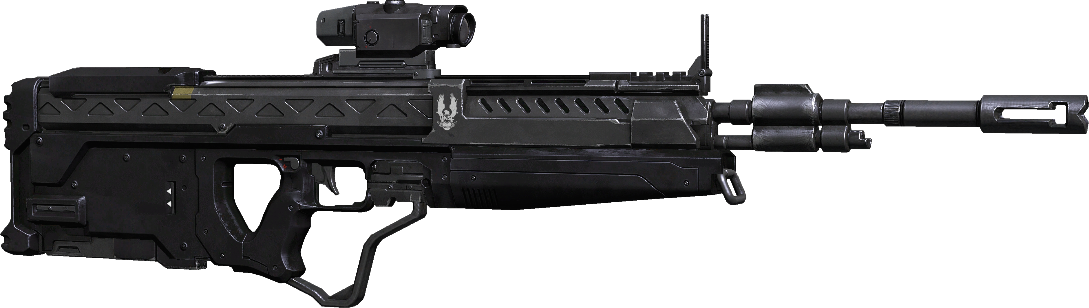 halo assault rifle png