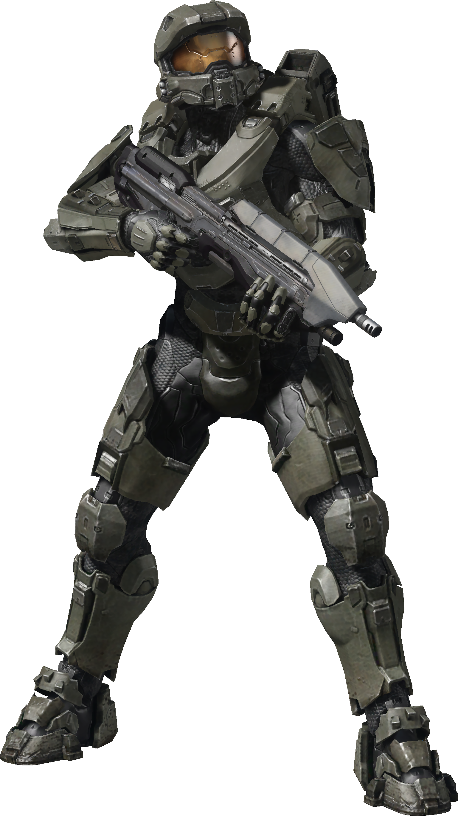 Halo 5 master chief png. Image wielding a ma