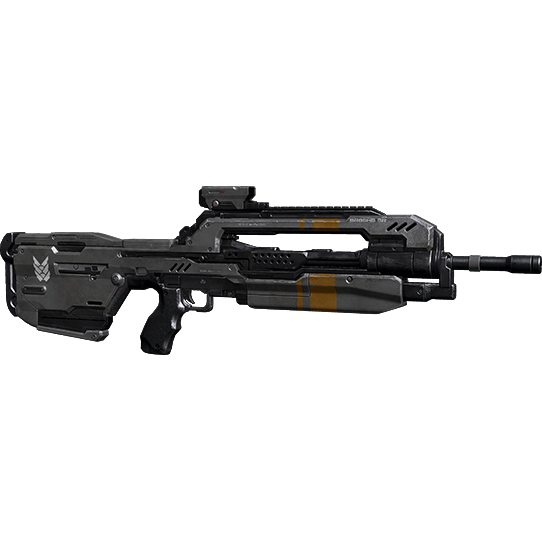 Transparent rifle battle. Weapons universe halo official