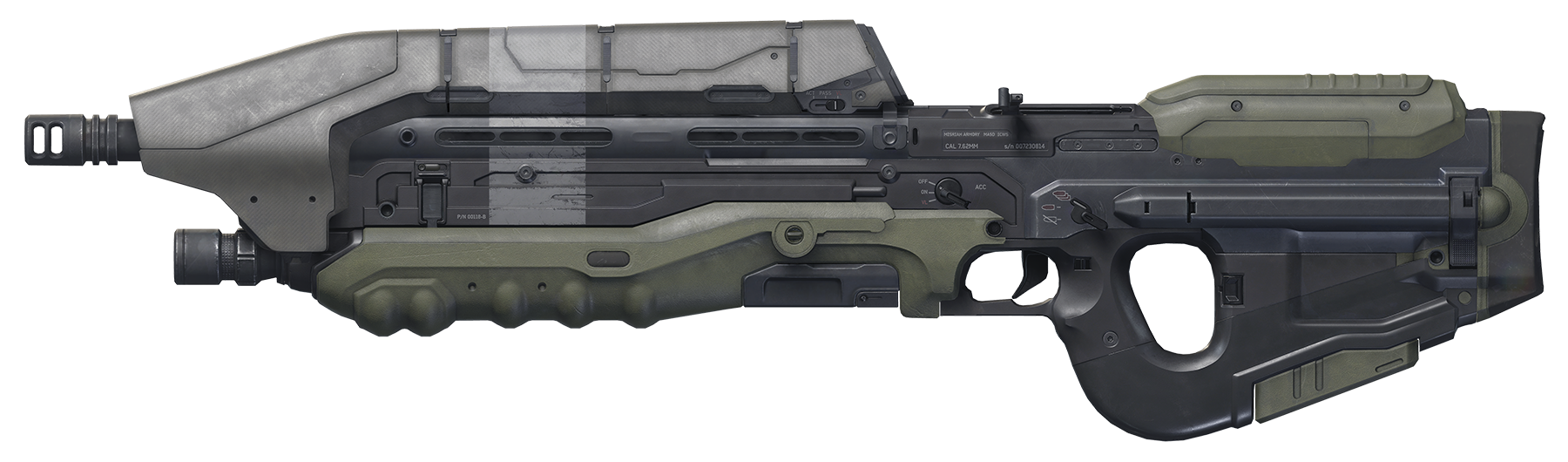 Halo assault rifle png. Image alteredrp halorp wikia