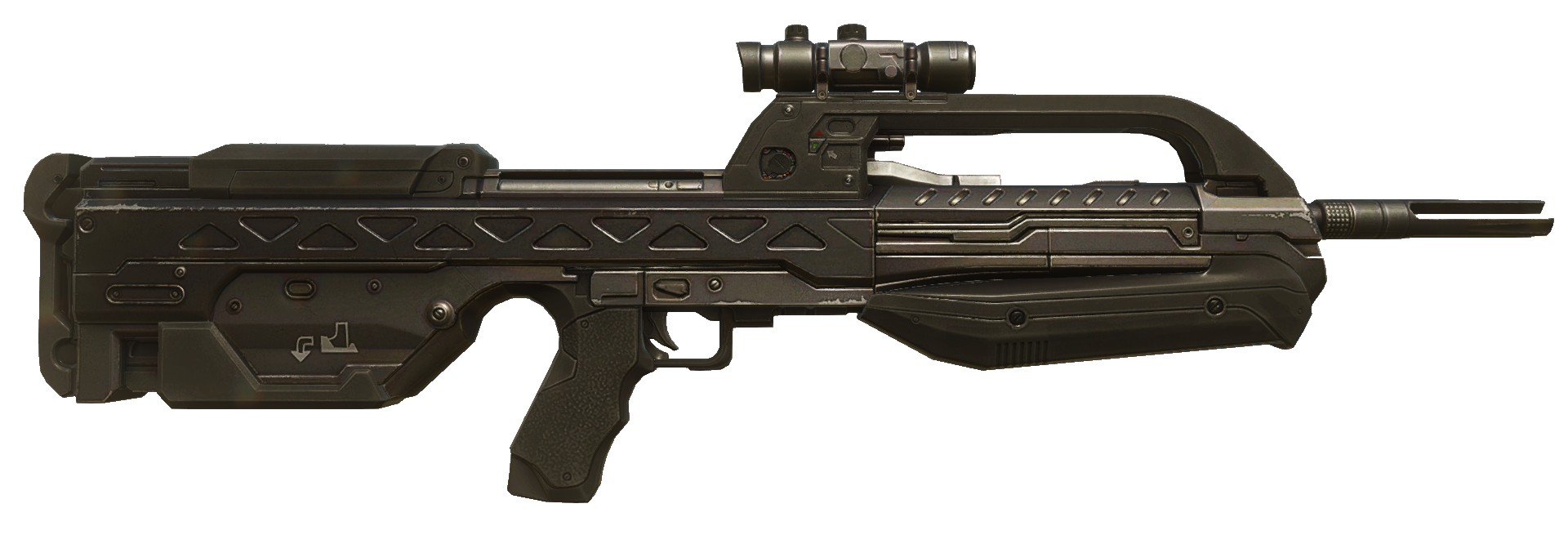 Halo battle rifle png. Br service nation fandom