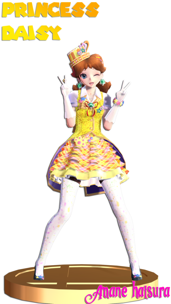 Halo clipart mmd. Tda magical princess daisy