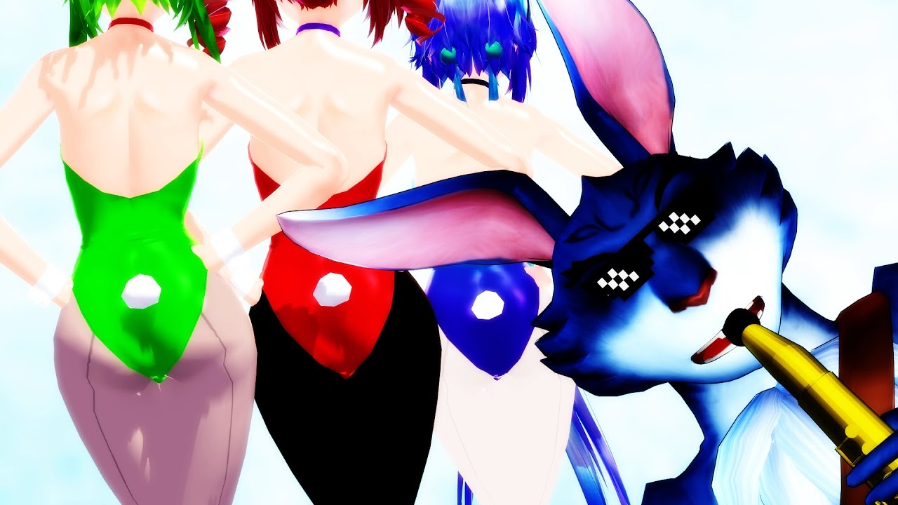 Halo clipart mmd. Bunnymund s new bunny