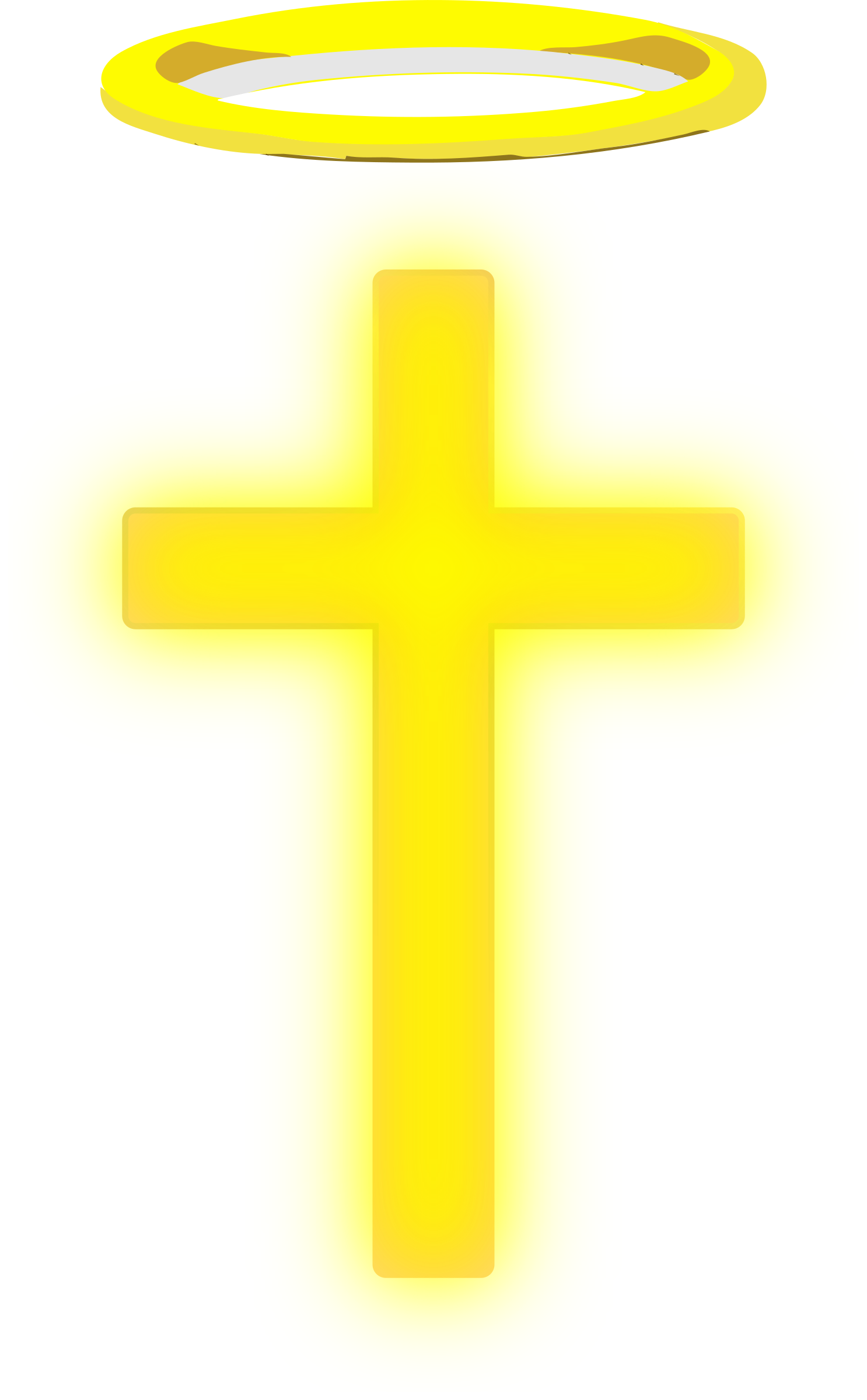 Halo clipart religion. Cross with