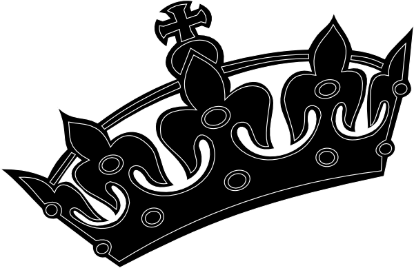 Halo clipart tilted. Free crooked crown cliparts