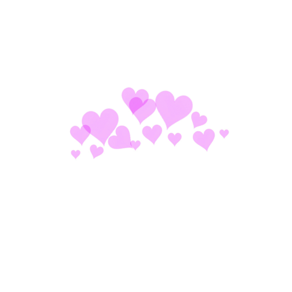 Halo clipart tumblr transparent. Hearts heart cute sticker