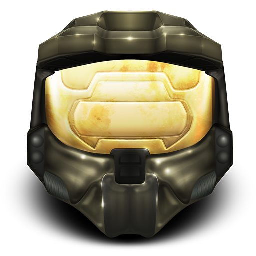 Master chief helmet png. Halo icon free icons