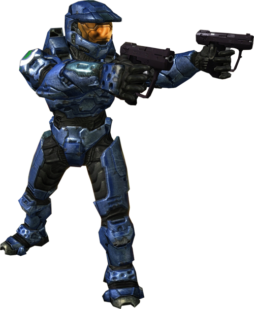 Halo spartan png. Image blue render small