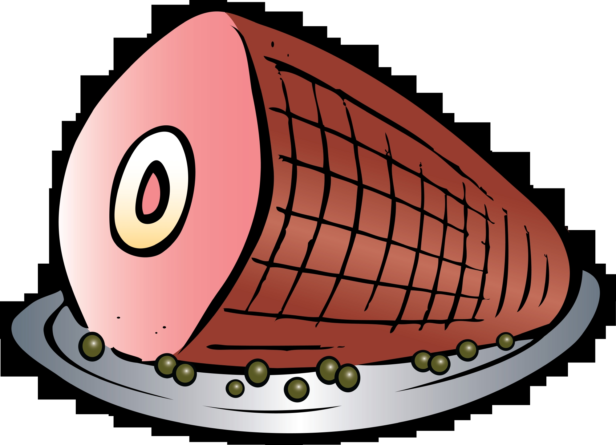 Ham clipart holiday ham. Awesome collection digital r