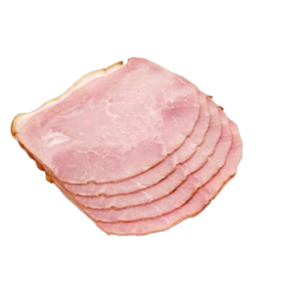 ham transparent cut