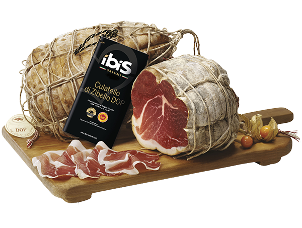 Ham transparent cured. Meat excellences ibis salumi