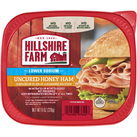 Ham transparent preserved. Hillshire farm ultra thin