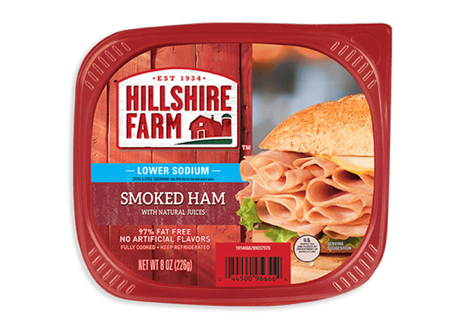 Ham transparent smoked beef. Thin sliced low sodium