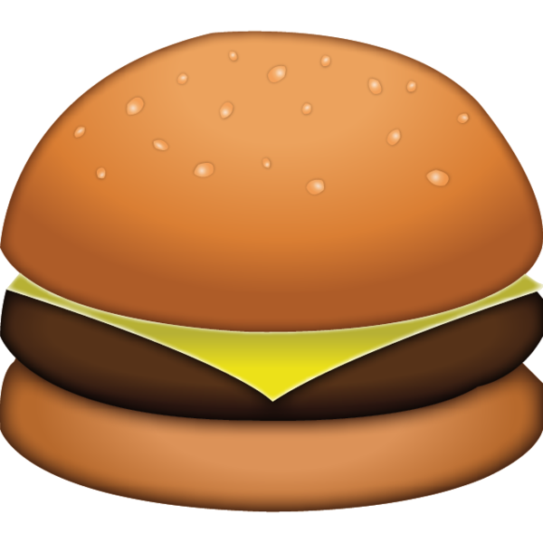 Hamburger cartoon png. Download cheese burger emoji