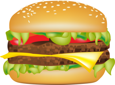 Hamburger svg comic. Clipart clipartaz free collection