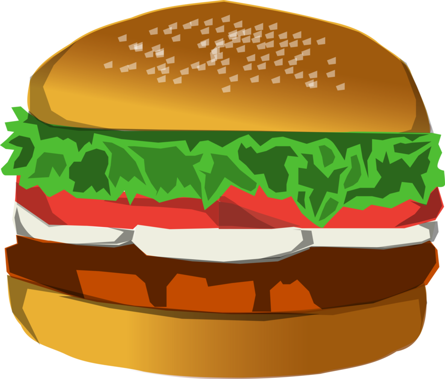 Hamburger fast food chicken. Cheeseburger clipart picture royalty free