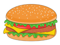 Hamburger clipart buger. Search results for burger