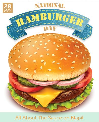 Hamburger clipart burger day. Best national may