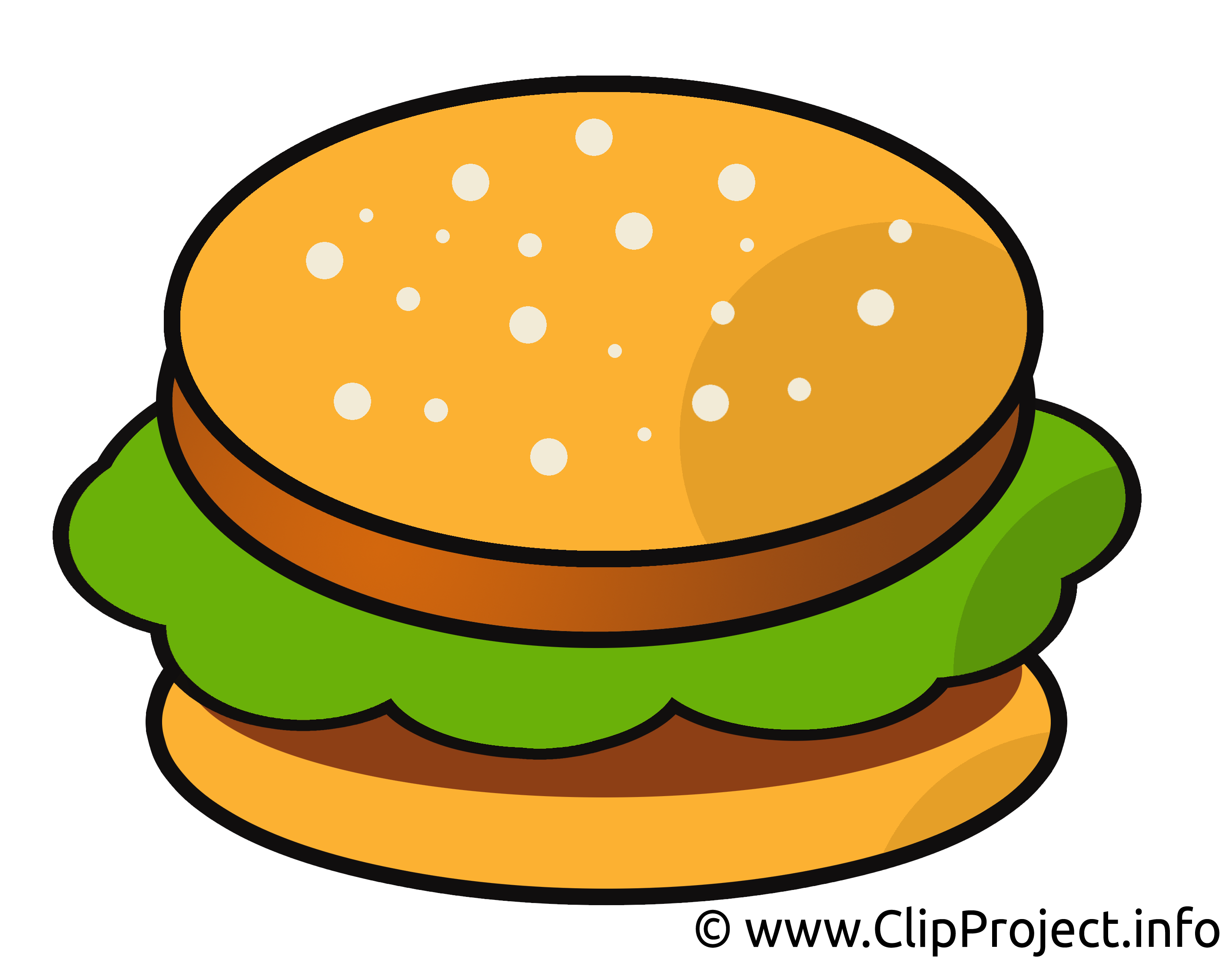 Hamburger clipart comic.