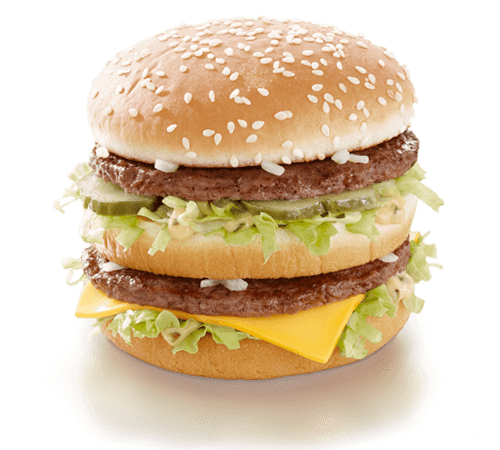 Hamburger clipart healthy burger. Big mac r nlerimiz
